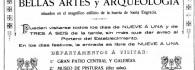 Anuncio del Museo. Año 1916
