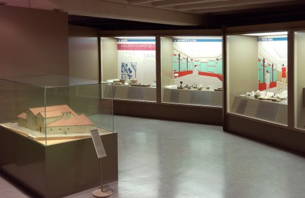 La casa romana. Colonia Celsa (Velilla de Ebro, Zaragoza). Foto: José Garrido. Museo de Zaragoza.