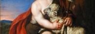 San Juan Bautista niño. Óleo sobre lienzo. Antonio Palomino. Barroco. Hacia 1655-1726. Inv. 10526. Depósito Museo del Prado.
