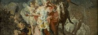 Anibal cruzando los Alpes. Óleo sobre lienzo. Francisco de Goya y Lucientes. 1771. Inv. 51356.