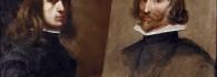 Autorretrato pintando a su padre Daniel Martínez. Óleo sobre lienzo. Jusepe Martínez. Barroco. Hacia 1630. Inv. 10152.