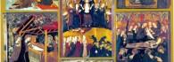 Composición general del retablo de Jaime Serra