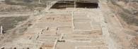El yacimiento arqueológico. La ínsula II. Vista general