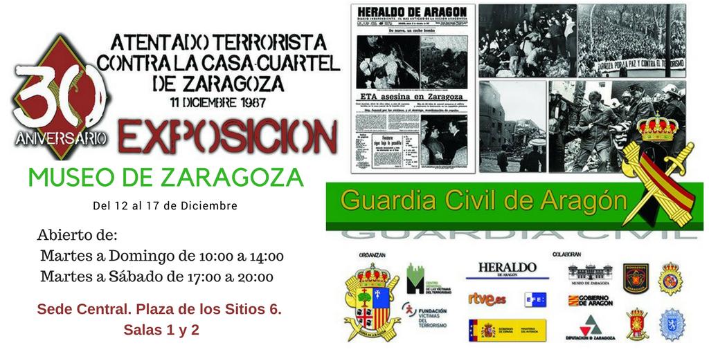 Cartel exposición del 12 al 17 de diciembre