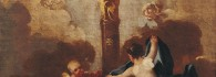 La Virgen del Pilar. Óleo sobre lienzo. Francisco de Goya. Hacia 1771-1774. Inv. 9259.