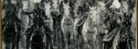 Fiesta del Pilar. Grisalla sobre cartón. Marcelino de Unceta. Hacia 1835-1905. Inv. 10729.