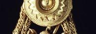 Pendiente. Oro. 100-50 a.E. La Corona (Fuentes de Ebro, Zaragoza). Inv. 50891.