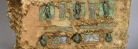 Arca de caudales. Madera/hierro/bronce. Siglo I. Turiaso/Tarazona (Zaragoza). Inv. 50112.