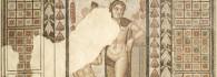 Mosaico con Venus y Eros. Piedra caliza. 360-375. Villa Fortunatus (Fraga, Huesca). Inv. 07626.