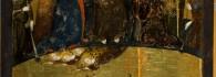 Juicio Final. Retablo de la Resurrección. Temple sobre tabla. Jaime Serra. Gótico. Hacia 1361-62. Monasterio del Santo Sepulcro. Zaragoza. Inv. 1000.