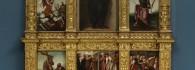 Retablo de la Virgen con el niño. Óleo sobre tabla. Jerónimo Vallejo Cosida. Renacimiento. Hacia 1569. Cárcel de la Manifestación del Reino de Aragón. Inv. 9435.