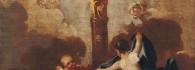 La Virgen del Pilar. Óleo sobre lienzo. Francisco de Goya y Lucientes. Hacia 1771-1774. Inv. 9259.