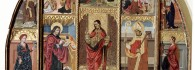 Retablo del Salvador. Óleo sobre tabla. Juan de la Abadía. Gótico. Hacia 1489-1511. Ermita de San Blas. Broto. Huesca. Inv. 10001.
