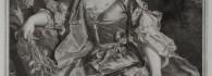 Ceres. Estampa aguafuerte sobre papel verjurado. Hyacinthe Rigaud. 1728. Inv. 54260. Depósito Mercedes Aguilá Grau.