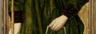 Ángel con atributos de la Pasión. Retablo de la Santa Cruz. Óleo sobre tabla. Miguel Jiménez y Martín Bernat. Gótico Hispanoflamenco. Hacia 1481-1487. Iglesia de Blesa. Teruel. Inv. 10031.