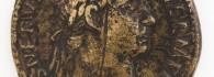 Sestercio de Trajano, anverso. Bronce. Roma. 101-102. Inv. 08336.