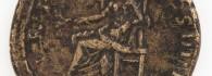 Sestercio de Trajano, reverso. Bronce. Roma. 101-102. Inv. 08336.