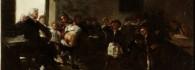 La letra con sangre entra. Óleo sobre lienzo. Francisco de Goya y Lucientes. Hacia 1777-1785. Inv. 54385.