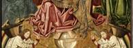 Juicio Final. Retablo de la Santa Cruz. Óleo sobre tabla. Miguel Jiménez y Martín Bernat. Gótico Hispanoflamenco. Hacia 1481-1487. Iglesia de Blesa. Teruel. Inv. 10026.
