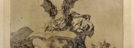 Desastre nº 71. Contra el bien general. Estampa. Aguafuerte sobre papel. Francisco de Goya y Lucientes. 1º edición 1863. Inv. 28198.