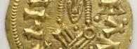 Tremissis de Sisebuto. Cesaracosta (Zaragoza), reverso. Oro. Reino visigodo de Toledo, 612-621. Inv. 54254.