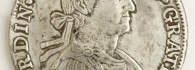 Ocho reales de Fernando VII, anverso. Méjico. Plata. 1810. Inv. 08860.