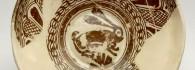 Plato dorado. Taller de Muel. S. XVI. Inv. 01307