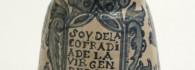 Jarra oculada de la cofradía de la Virgen de la Candela. Taller de Muel. S. XVIII. Inv. 01286
