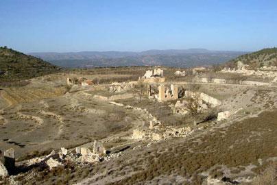 Minas de azufre de Libros. www.mtiblog.com