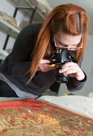 Documentando el proceso (Foto: J. Garrido)