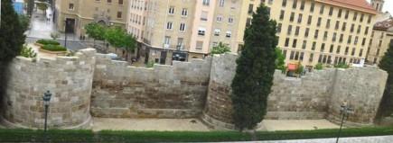 La muralla de Zaragoza en San Juan de los Panetes (Fot. J. A. Paz)