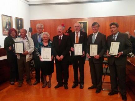Los galardonados con los Premios SIPA 2015