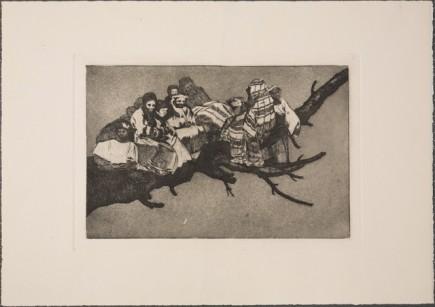 Otra de las nuevas estampas de Goya (Fot. J. Zambrano)