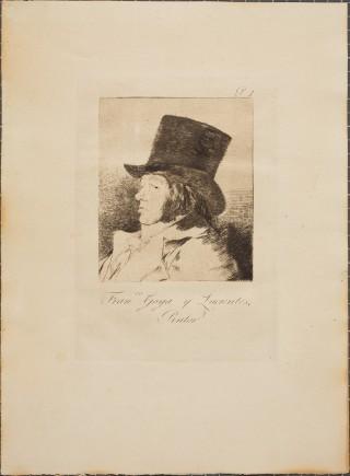 Una de las nuevas estampas de Goya (Fot. J.Zambrano)
