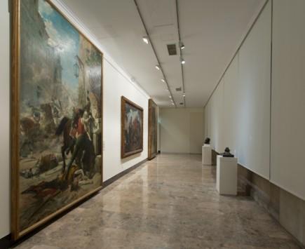 La Galería renovada, a la izquierda Malasaña y su hija (Fot. J. Garrido)