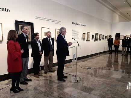 """Inauguración de la muestra """"El Dibujo Español. En el gusto privado""""."""