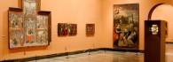 Disposición de la obra en la sala 15 en el año 2005 (Foto: Miguel Gracia)