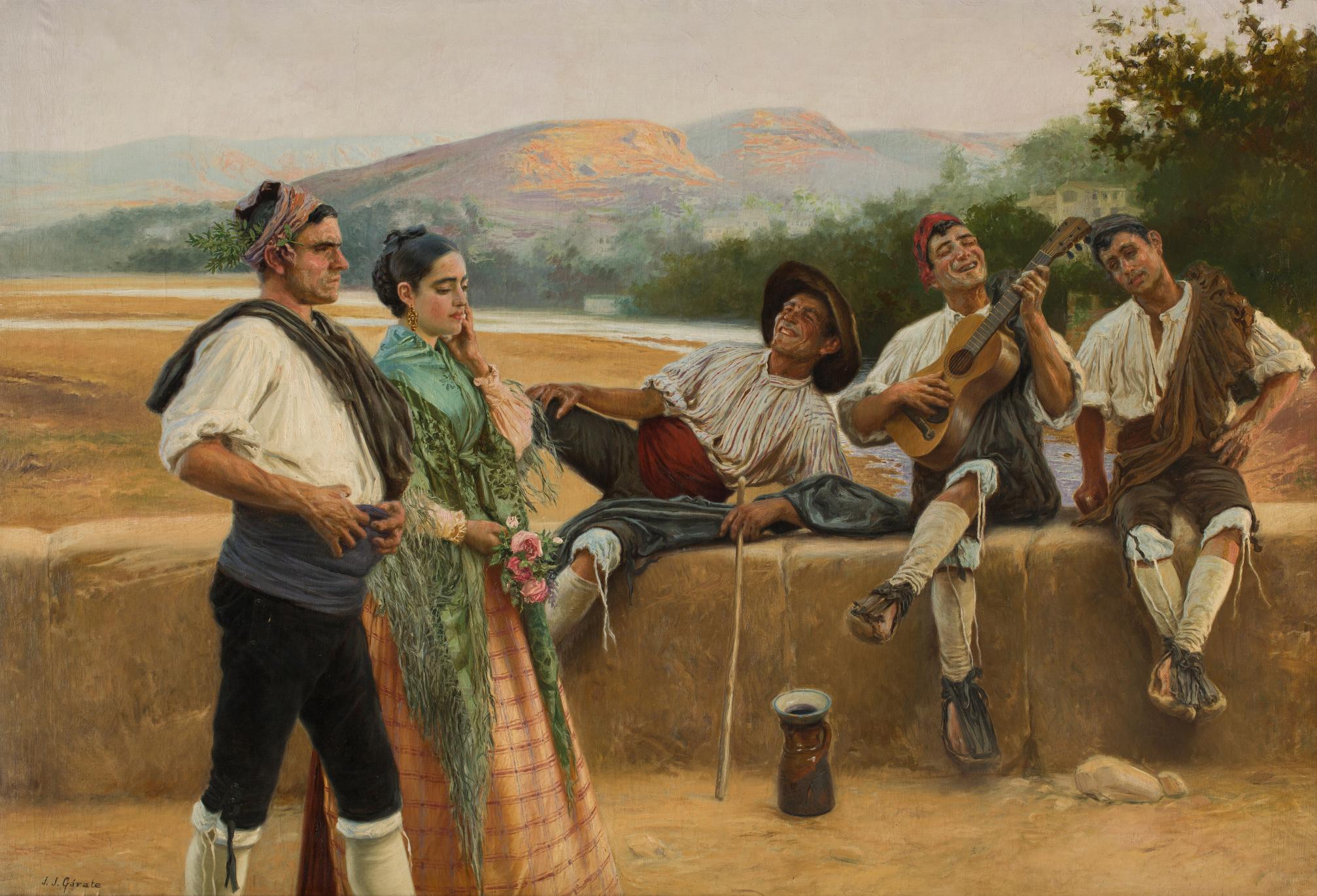 """""""Una copla alusiva"""", Juan José Gárate. Foto: M. Gracia"""