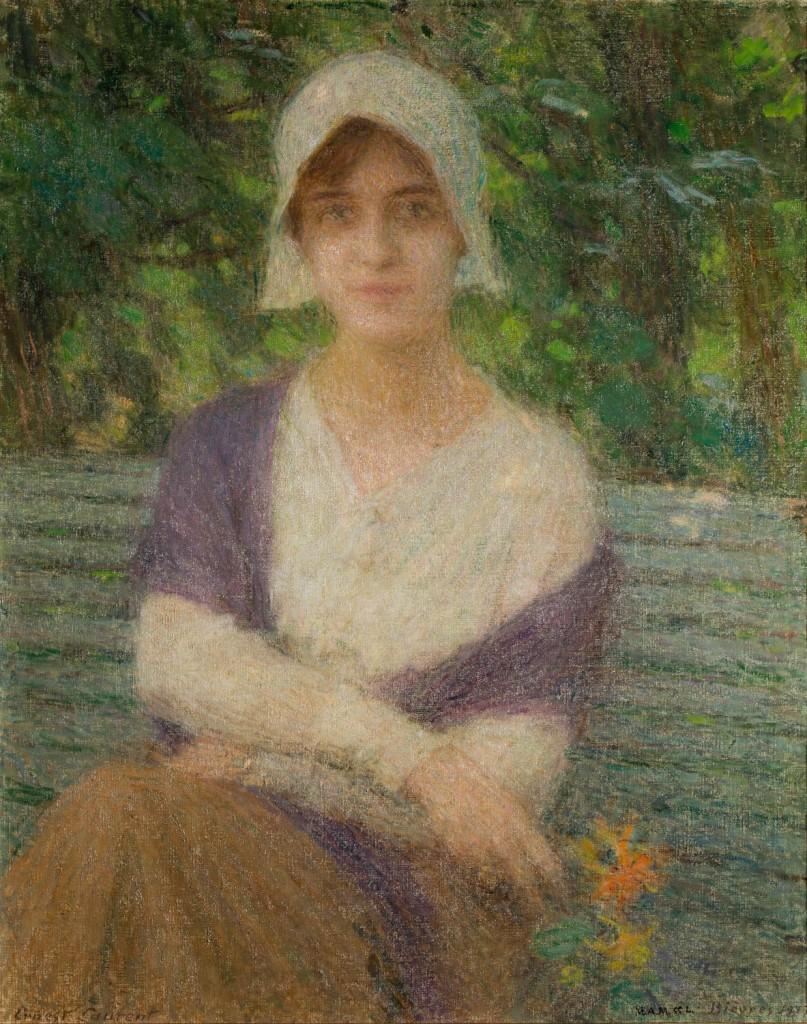 """Holandesa"", Laurent, 1917. Foto: José Garrido. Museo de Zaragoza."