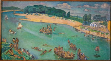 """""""El Ebro"""", Francisco Marín Bagüés, 1934-1938. Foto: José Garrido. Museo de Zaragoza."""
