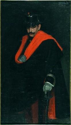 Retrato del capitán Ginés, Fco. Marín Bagüés, 1908. Foto: José Garrido. Museo de Zaragoza.