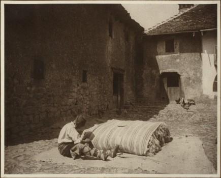 Colchonero, sin firma, 1915-1928. Foto: José Garrido. Museo de Zaragoza.
