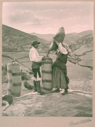 Labradores, 1903. Eduardo Cativiela. Foto: José Garrido. Museo de Zaragoza.