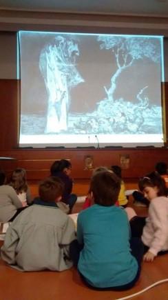 Taller infantil de las artes. Foto: Difusión Museo de Zaragoza.