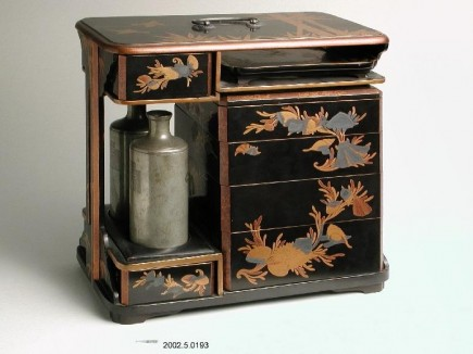 Caja (No-bentô), ppio. s. XIX. Foto: José Garrido. Museo de Zaragoza.