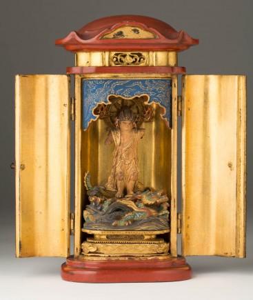 Altar. Periodo Edo. Primera mitad s.XIX. Foto: Elisa Santos. Museo de Zaragoza.