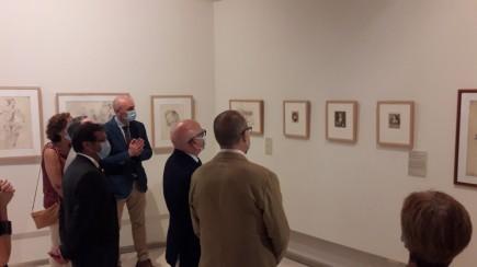 Presentación Guía del Museo de Huesca y obras de V. Carederera. Foto: Museo de Huesca.