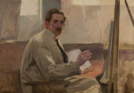 Mi amigo Portillo, Joaquín Sorolla, 1901-1925. Foto: José Garrido. Museo de Zaragoza.