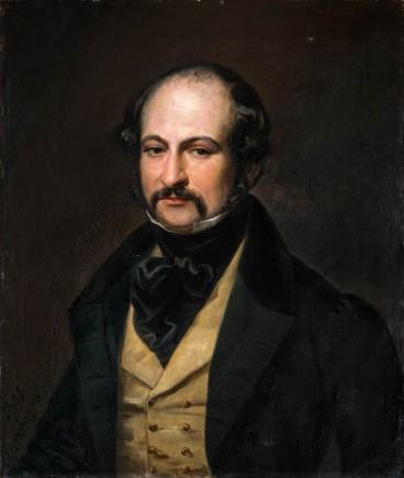 Retrato de Pascual Gayangos y Arce, Valentín Carderera, 1841. Foto: Javier Romeo. Museo de Zaragoza.