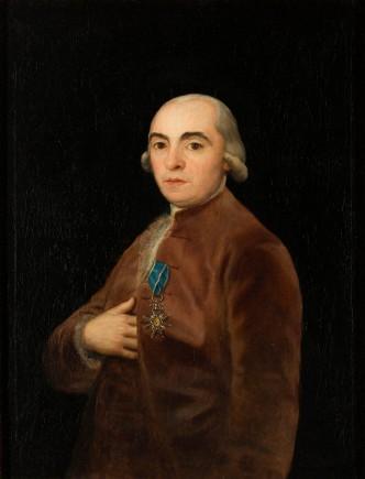 Retrato de Juan Martín de Goicoechea, Francisco de Goya, 1790. Foto: Elisa Santos. Museo de Zaragoza.